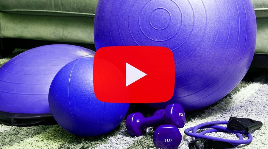 YouTube csatorna otthoni edzéshez