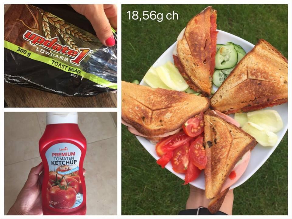 hagyományos reggeli egészséges verzióban
